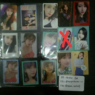 WTS TWICE PHOTOCARDS ALBUMS