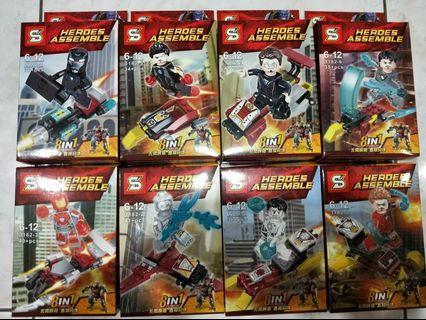 🚚 Heroes assemble Ironman new series