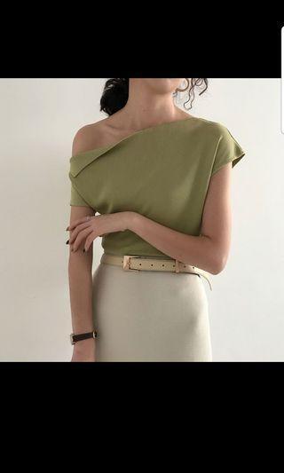 BNWT jade knit top