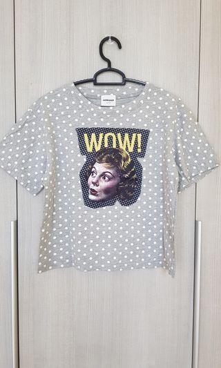 Polkadot Patchwork T- Shirt