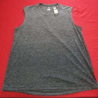 Adidas Grey Sleeveless Top