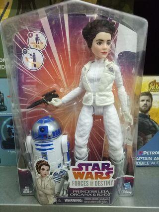 Star Wars Force Of Destiny Princess Leia Organa & R2-D2