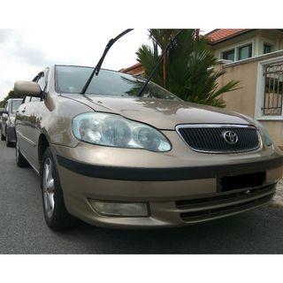 Toyota Altis 2003 (1.8) (A) Tip-Top Condition