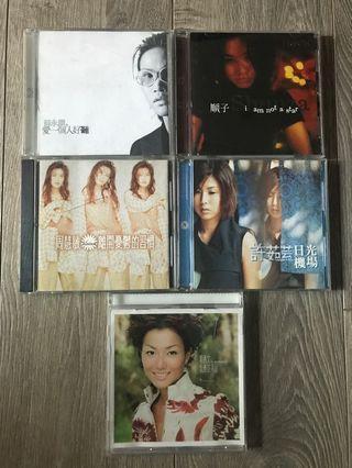 正版二手CD(國語專輯)