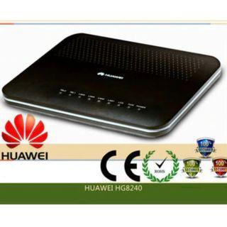 HUAWEI EchoLife HG8240 modem
