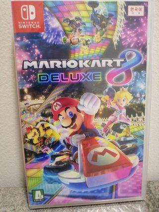 Mario Kart Deluxe 8 brand new nintendo switch