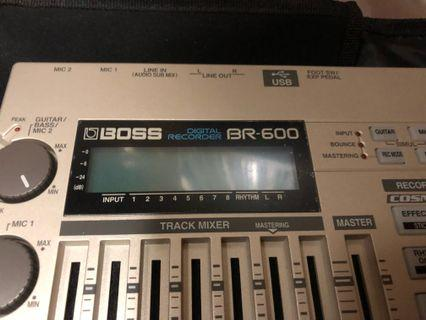 Boss BR-600 Digital Recorder 錄音機