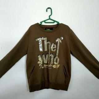 SWEATER The who and Novadelic