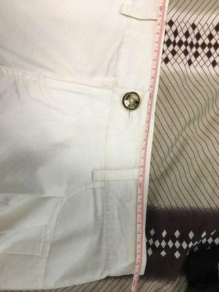 Juicy Girl 白色短褲