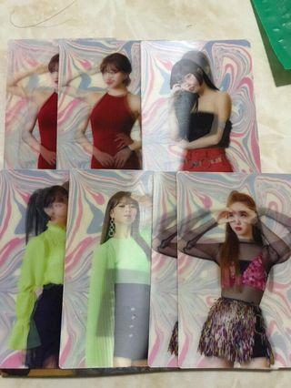 WTT / WTS twice fancy you era lenticular special moving postcard pc photocard