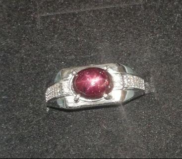 pigeon blood ruby ring