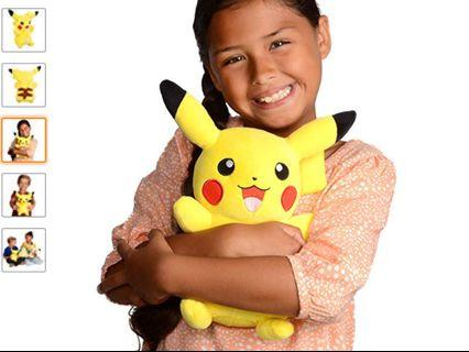 🚚 Yellow Pikachu Plush Toy Plushies