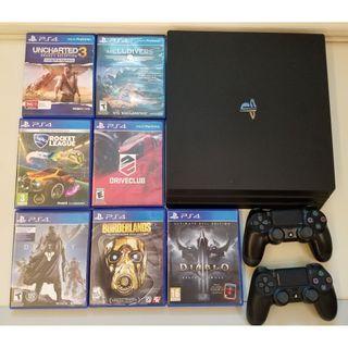 *LIKE NEW* Sony PlayStation 4 Pro 1TB