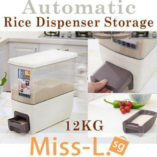 🚚FREE SHIPPING -AUTOMATIC RICE DISPENSER 12KG