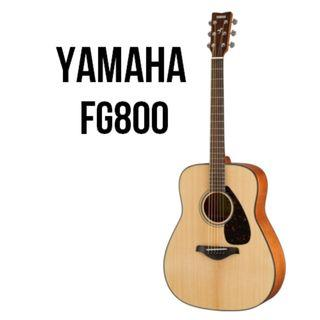(2019) Yamaha FG800 Solid Spruce Top Acoustic Guitar - New Model