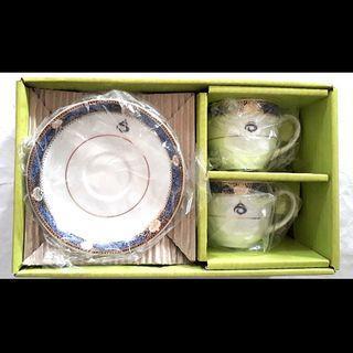 Vintage Royal Thai Porcelain Tea Cups
