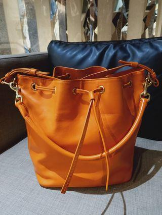 Saint Laurent bucket bag (bag only)