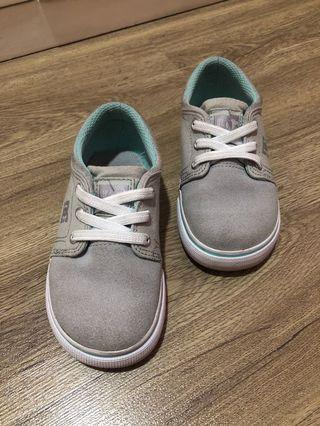 Sepatu DC ORIGINAL warna abu2 mint