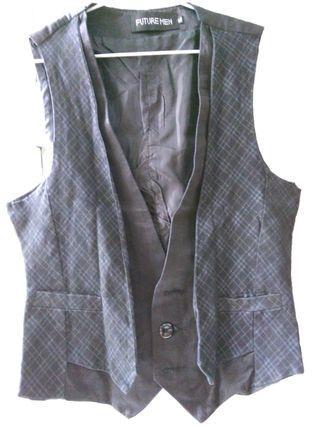 Black Vest body fit