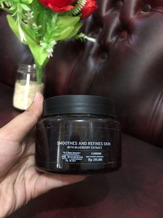 The Body Shop Bluebery Body Scrub
