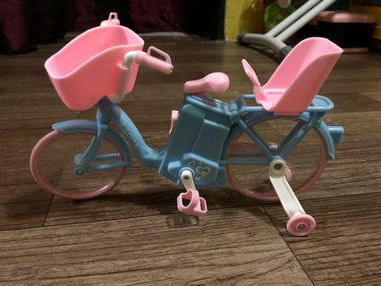 Licca doll bicycle