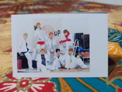 PHOTO CARD polaroid NCT (Empathy, Regular, We Go Up, Baby Don't Stop, Boss)