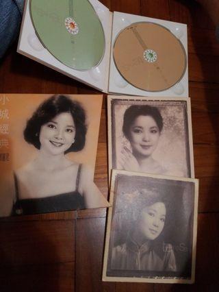 鄧麗君絕版CD 小城故事 兩隻加寫真