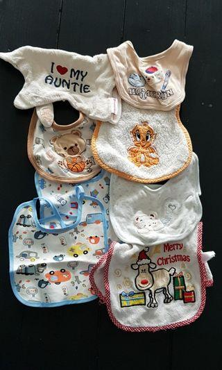 Baby Bib (8 pieces)