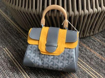 Goyard Saigon mini 灰色 手袋 handbag