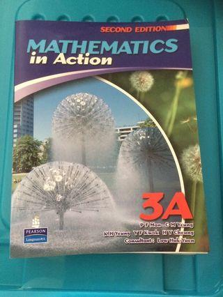 Mathematics in Action 3A