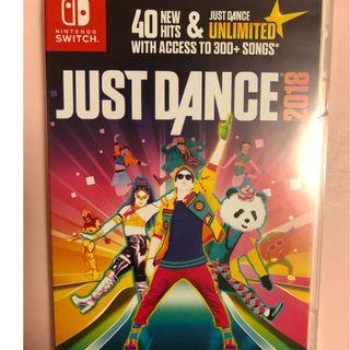 99% new Switch Just Dance 2018
