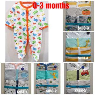 💌FREE MAILING💌 NEXT Baby Sleepsuit for boy nb-12 months