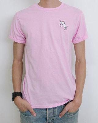 Pink Dot Men's T-Shirt: Heckin' Unicorn