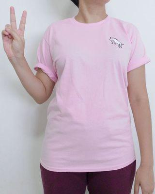 Pink Dot Ladies T-Shirt: Heckin' Unicorn