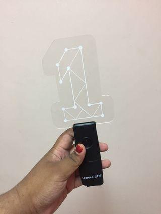 Wanna One ver 1 official Lightstick