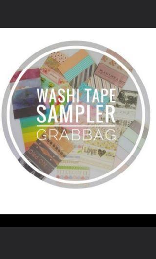 🚚 Washi Tape Sample Clearance