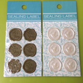 New Sealing label