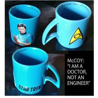 Star Trek Collectable Mug Cup Kirk, Spock, McCoy, Scotty