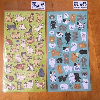 全新貓咪🐱貼紙