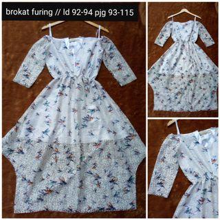 #BAPAU birdie brokat asymetris dress