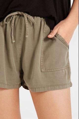BNWT Army Green Shorts