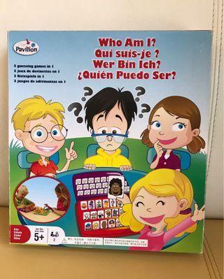 Toysrus 合家歡遊戲 Who am I?