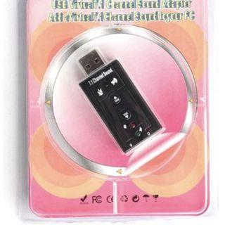 USB Sound Card - v1.0 - Classic Quality - New Set - In Box
