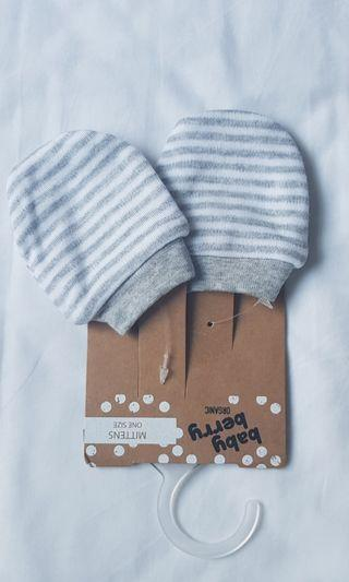 Organic cotton mittens