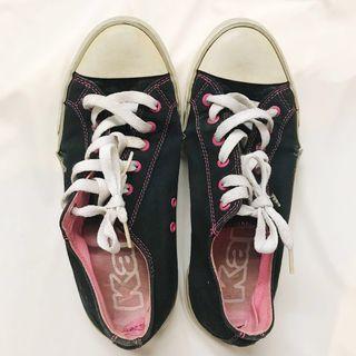Kappa Sneakers Black Pink