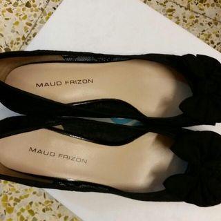 Maud Frizon黑色lace High Heel