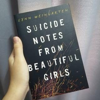 Suicide note from beautiful girls novel