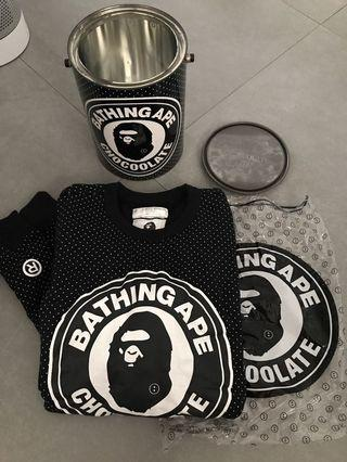 Bathing ape x chocoolate 首日紀念鐵罐衛衣