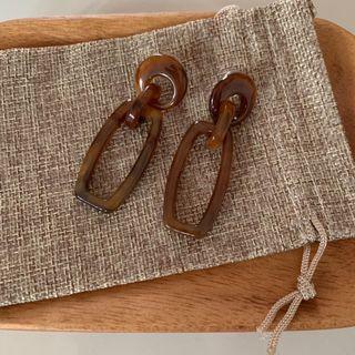 🚚 Cocoa Earrings