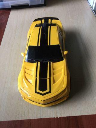 Transformer style toy car
